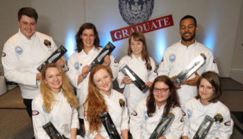 The Craft Guild of Chefs welcomes 8 new graduate award winners