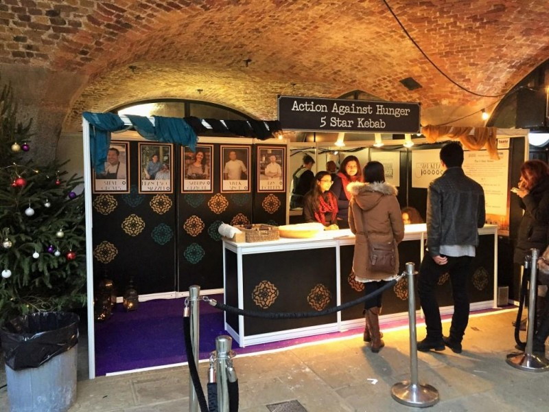 Action Against Hunger smashes targets at the Taste of London