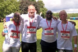 Reynolds' Runner Beans participate in charity run
