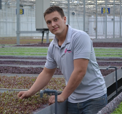 William Boers – Expert micro leaf grower